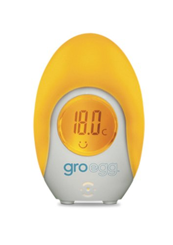 Gro Egg Color Changing Digital Room Thermometer