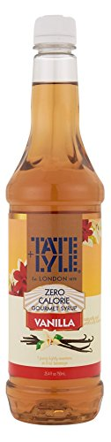 Tate+Lyle Sugar Free Zero Calorie Vanilla Syrup, 750mL (25.4oz) Bottle (Vanilla Syrup For Soda Pump compare prices)