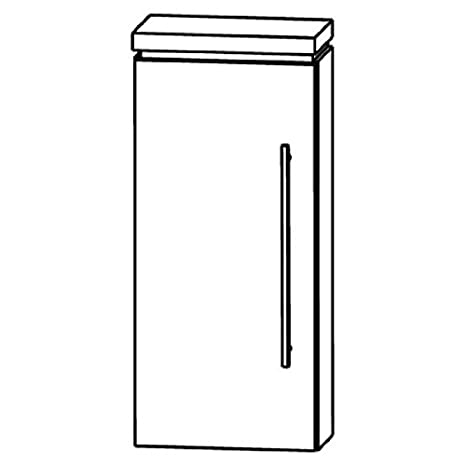 In Line Wall Cabinet (OGA414 A5L/R) Bathroom, 40 cm