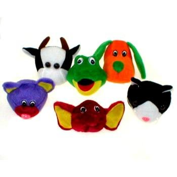3'' Plush Stuffed Animal Heads