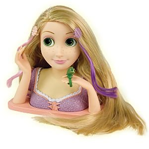 Amazon.com: Disney Tangled Rapunzel Styling Head: Toys & Games