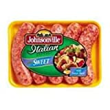 Johnsonville 4:1 Sweet Italian Sausage Links, 4 ounce -- 40 per case.