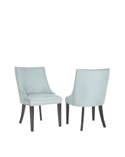 Safavieh Set of 2 Afton Side Chairs, Light Blue
