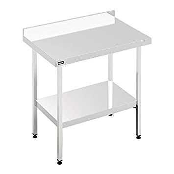 Lincat 650 Series Stainless Steel Wall Table Size: 900(H) x 1500(W) x 650(D)mm. 60mm upstand at rear. L6515WB