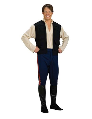 Han Solo Deluxe Adult Xl Adult Mens Costume