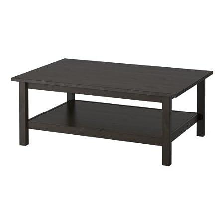 IKEA HEMNES - Mesa de centro, negro-marrón - 118x75 cm