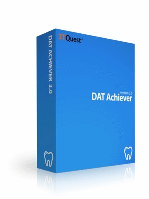 DAT Achiever Dental Admission Test Prep (Challenging CBT Questions with Detailed Solutions) -- 3 Full-Length Sample Exams