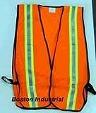 High Visibility Orange Safety Vest
