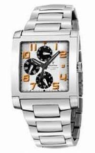 FESTINA Sport 16234/3 - Reloj unisex de cuarzo, correa de acero inoxidable color plata