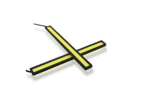 Pack of 2 - DC 174mm 12V Yellow Off Grid COB