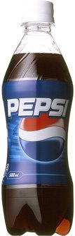 (お徳用ボックス) サントリー ペプシコーラ スリムボトル(ペットボトル) 500ml×24本