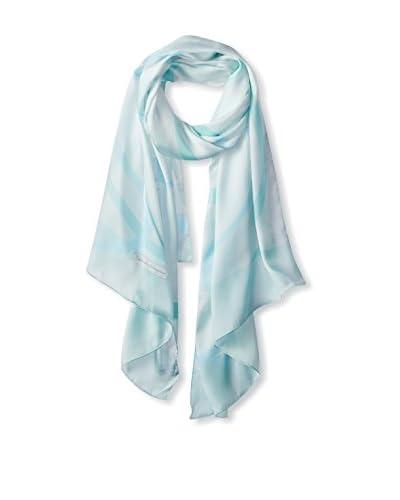 Salvatore Ferragamo Women's Silk Scarf, Aqua