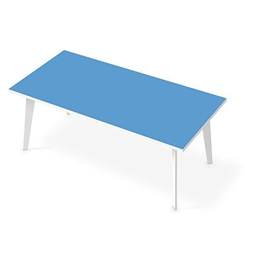 Tischfolie selbstklebend tisch 200x100 cm design blau 3 for Designfolie selbstklebend