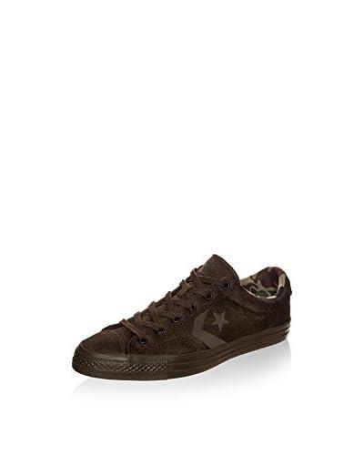 Converse Sneaker Star Player Knit schokolade