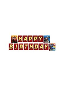 Disney Cars 2 Jointed Banner 8.35ft long from Hallmark
