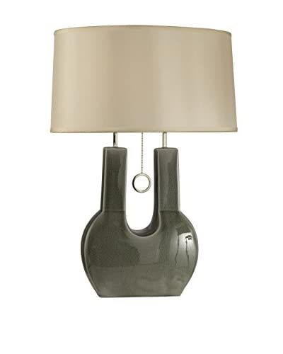 Nova Lighting Emperor Table Lamp, Grey