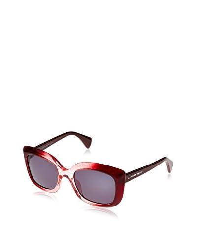 Alexander McQueen Gafas de Sol AMQ4235/S (53 mm) Burdeos