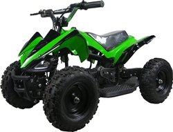 350 Watt Mars Sport Electric Ride On Mini Quad Atv For Kids, Green