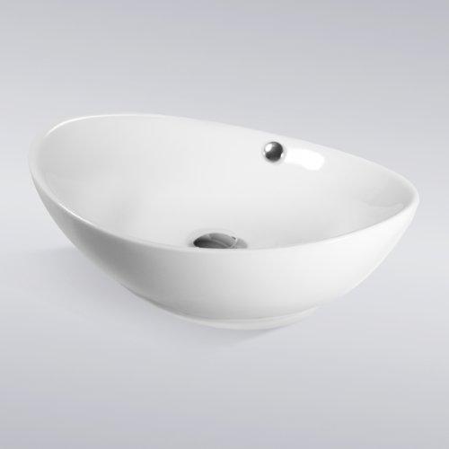 Bathroom Egg Porcelain Ceramic Vessel Vanity Sink Art Basin