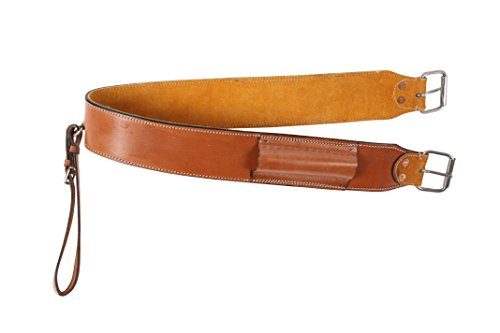 TAN WESTERN LEATHER REAR BACK CINCH SADDLE CINCHES FLANK CINCH BACK GIRTH HORSE TACK (Standard)