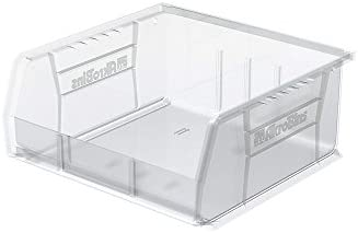 Akro-Mils Clear Akrobins - 11X10-78 X5quot - Clear - Lot of 6