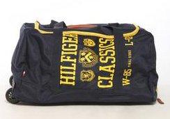 Buy Tommy Hilfiger Varsity Duffel Travel Bag on Wheels by Tommy Hilfiger