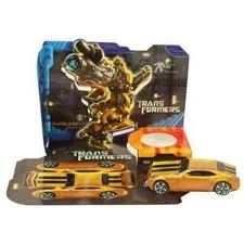 Transformers Movie Activity Popup Placemate - 4/Pkg