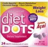 Diet Dots Dietary Supplement Weight Loss from DIETDOTS