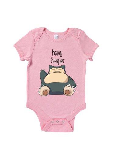 Blue Ivory Heavy Sleeper Baby Grow Cute Funny Novelty Humour Joke front-958717