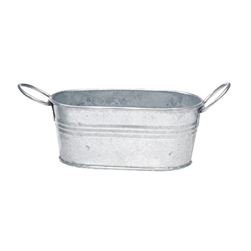 PacknWood Small Metal Tub with Handle, 7.5 oz. Capacity  (Case of 36) (Bus Tub Metal compare prices)