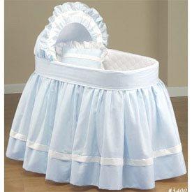 Baby Wicker Bassinet Bedding Set