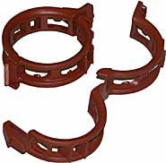 Twine Clips Mega 25mm Terracotta, Pack of 100
