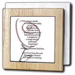 PS Inspirations - Love - Beyond You and Me - Poetry by Patricia Sanders - Poem - Tile Napkin Holders