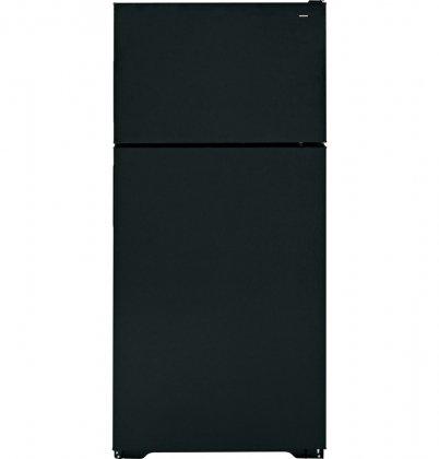 Hotpoint Htr16Absrbb 15.6 Cu. Ft. Black Top Freezer Refrigerator front-484468