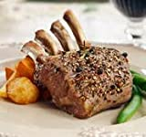 Search : Anderson Ranch Grass Fed Lamb, Frenched Lamb Rack, Two 26 oz 8 bone racks