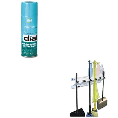 KITDPR00883EXC3336WHT2 - Value Kit - Dial Scented Anti-Perspirant amp;amp; Deodorant (DPR00883) and Ex-cell The Clincher Mop amp;amp; Broom Holder (EXC3336WHT2)