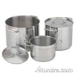 Royal Industries (ROY SS RSPT 20) - 20 Qt Induction-Ready Stainless Steel Stock Pot w/ Lid (Tfal 12qt Stock Pot compare prices)