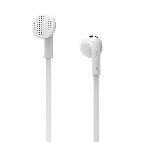 Premium Sound Quality Earbud With Mic For Your Iphone / Samsung / Htc / Sony (M100(White))