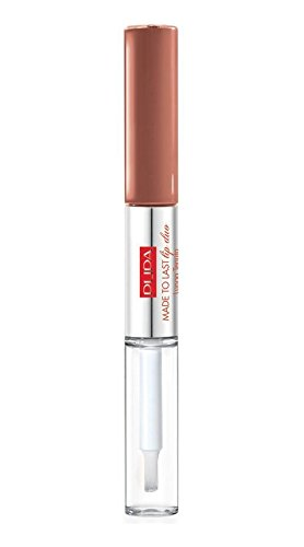 PUPA MADE TO LAST LIP DUO 012 Natual Nude - rossetto liquido / fluid lipstick