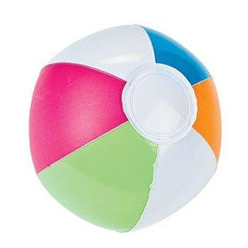 Inflatable Mini Spring Brights Beach Balls - Games & Activities & Balls - 1