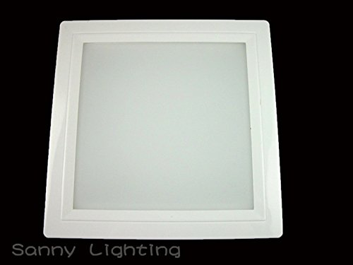 Super Bargain!!! New Model!! 20W Recessed Square Led Panel Ceiling Light Downlight Lamp Cool
