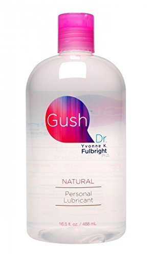 Gush By Dr Yvonne Fulbright, Natural Personal Lubricant - 16.5 Fluid Ounce (Made in the USA, 100% Unconditional Money Back, No Risk Guarantee) by eHealthy