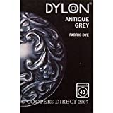 Dylon Machine Box Fabric Clothes Wash Dye 200g Available In Different Colour (Antique Grey)