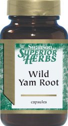 Wild Yam Root 405 mg 100 Caps