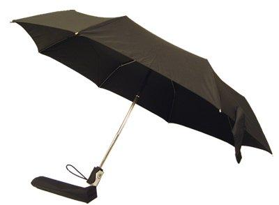 totes(トーツ) ワンタッチ自動開閉折りたたみ傘 チタンレインフォース ブラック 21280