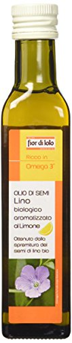 Fior di Loto Olio di Semi di Lino Al Limone - 250 gr