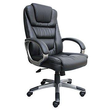 montand-high-back-bonded-leather-executive-chair-black-bonded-leatherplus-seat-back-silver-frame