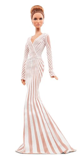Barbie Collector Jennifer Lopez Red Carpet Doll (Red Barbie compare prices)