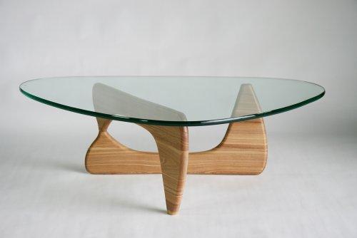 ■イサムノグチ センターテーブル■ノグチテーブル 19mm 強化ガラス■ナチュラル