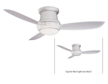 Minka Aire F574-Wh One Light White Outdoor Fan